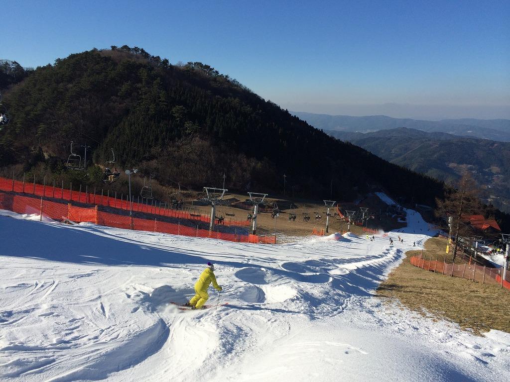 場 腕山 スキー 井川